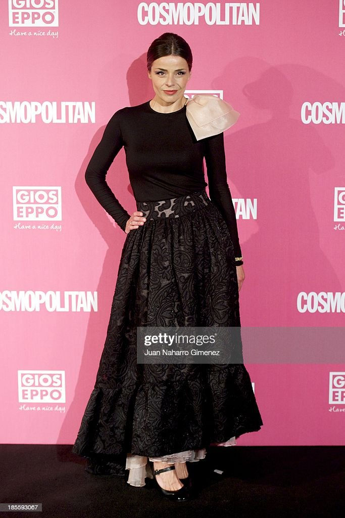 Inma de Moral attends the Cosmopolitan Fun Fearless Female Awards 2013 at the Ritz Hotel on October 22, 2013 in Madrid, Spain.