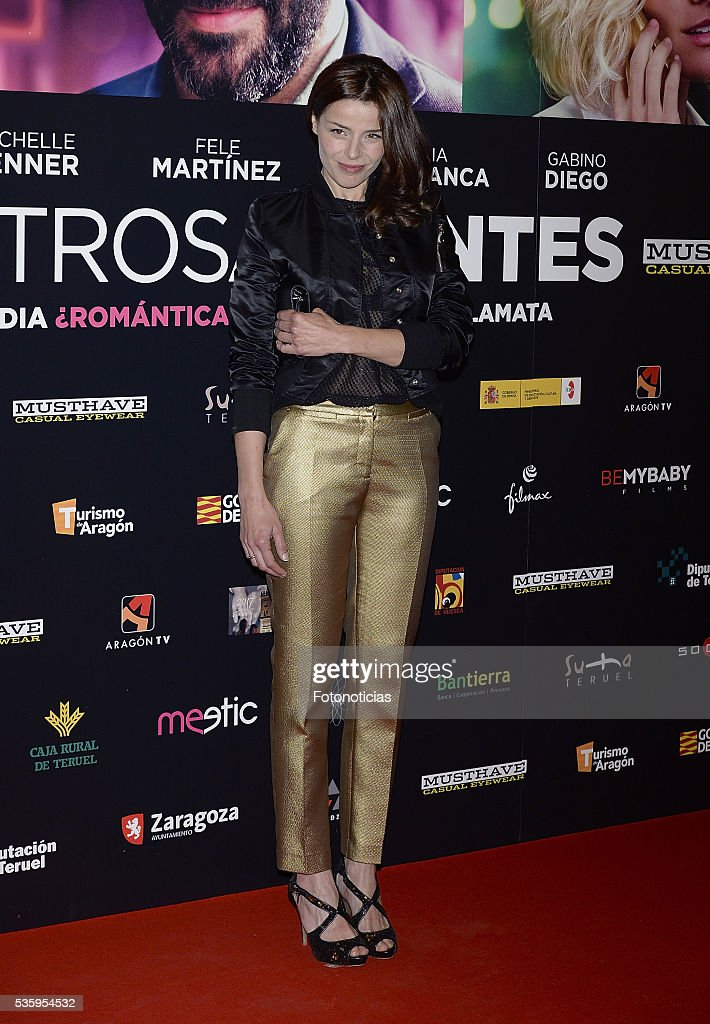 Inma del Moral attends the 'Nuestros Amantes' premiere at Palafox cinema on May 30, 2016 in Madrid, Spain.