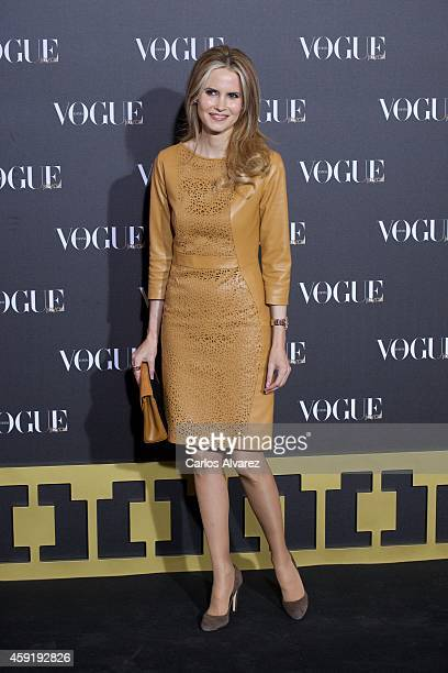Inma Shara attends the 'Vogue Joyas' 2013 awards at the Stock Exchange building on November 18 2014 in Madrid Spain