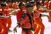 Inmates dancing to Thriller by Michael Jackson at CPDRC Prison The Inmates Dance Training Show is a rehabilitation program at the prison that has...