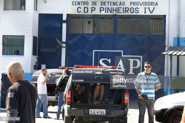 Inmates set fire to mattresses at the Provisional Detention Center in Pinheiros in the western zone of the city of São Paulo on Monday According to...