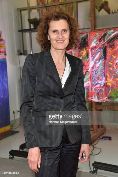 Innegrit Volkhardt during 'Maximilian Seitz EinwicklungenImpressionismusFest im Orient' Exhibition Opening at Susanne Wiebe Fashion Store on May 11...