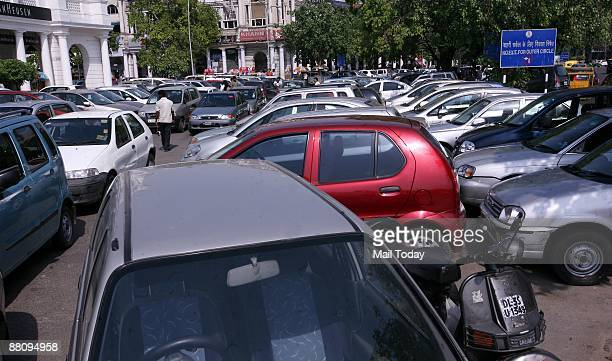 Inner circle parking lot in Connaught Place There are 12 parking lots in the Middle and Inner circles of Connaught Place which can accommodate 400...