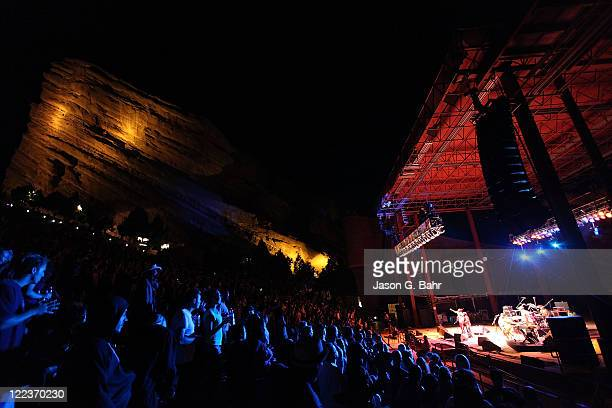 Inner Circle performs onstage at Red Rocks Amphitheater during the Reggae on the Rocks music festival on August 27 2011 in Morrison Colorado