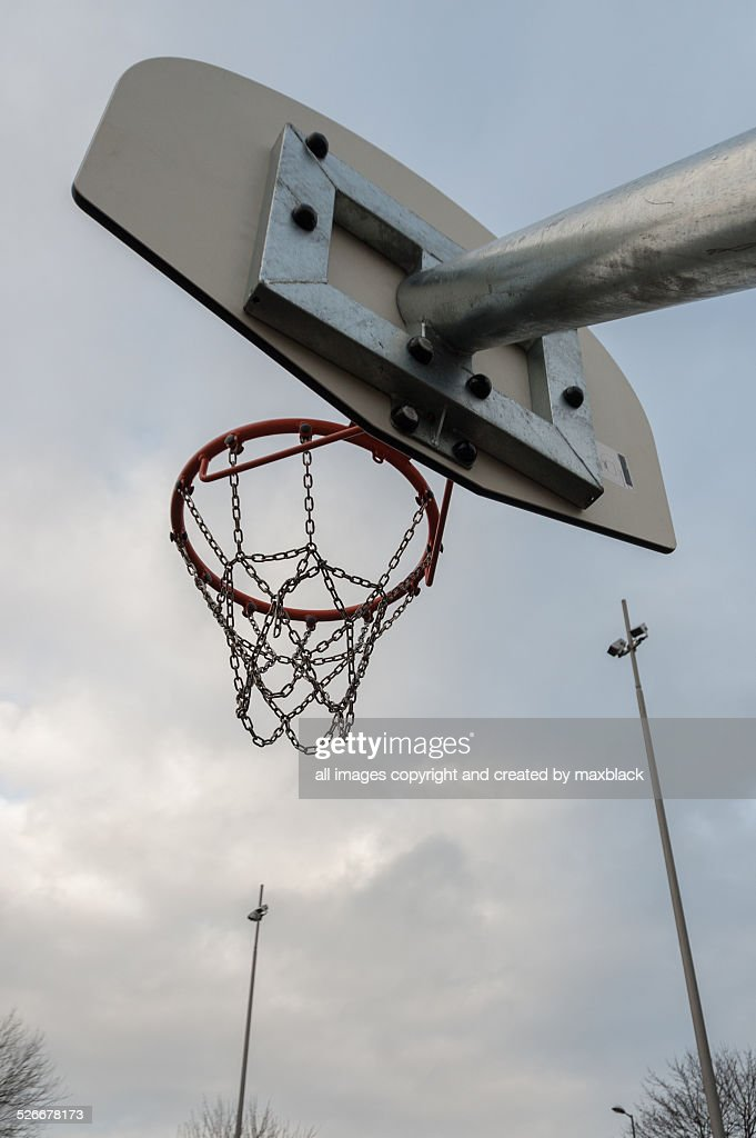 Inner city basketball court