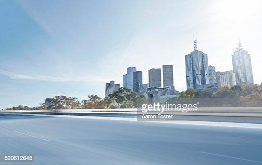 Inner city overpass