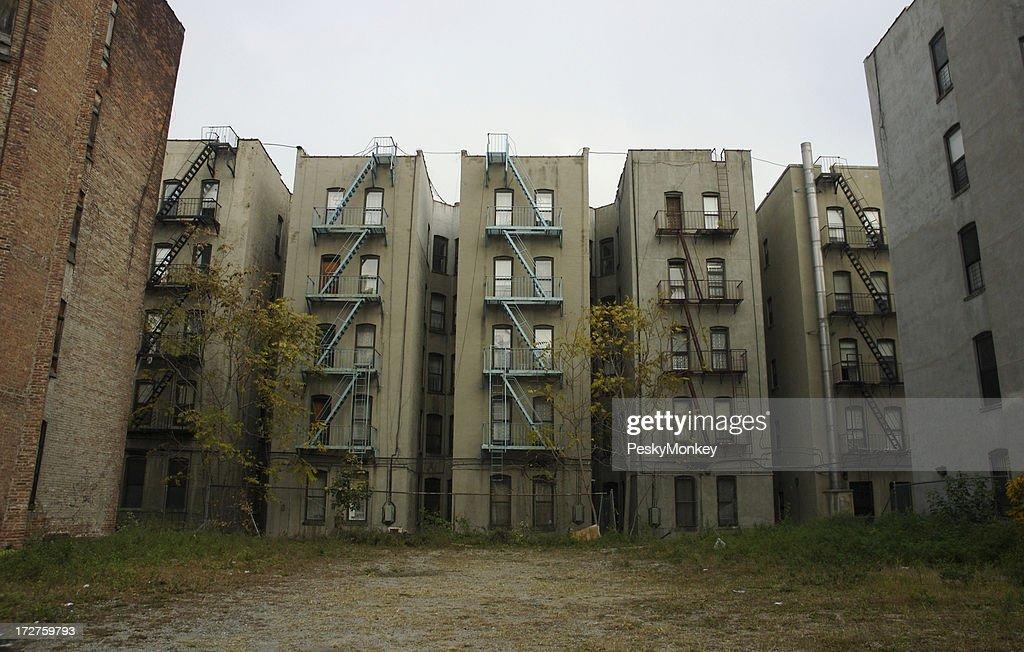 Inner City Tenement Buildings