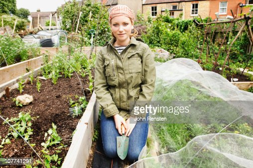 inner city urban allotment gardening project