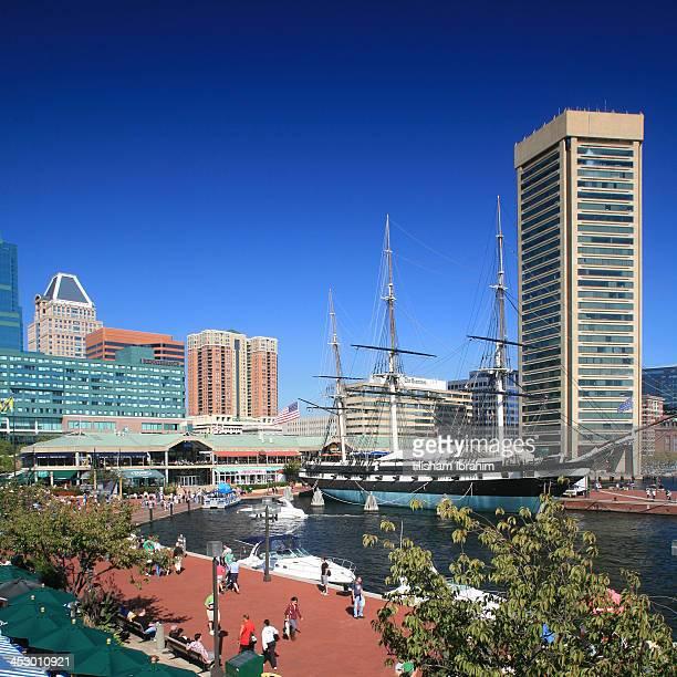 Inner Harbor and World Trade Center Baltimore