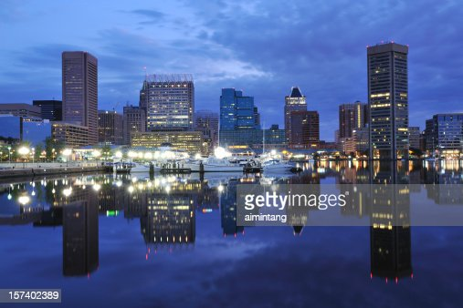 Inner Harbor at Dawn