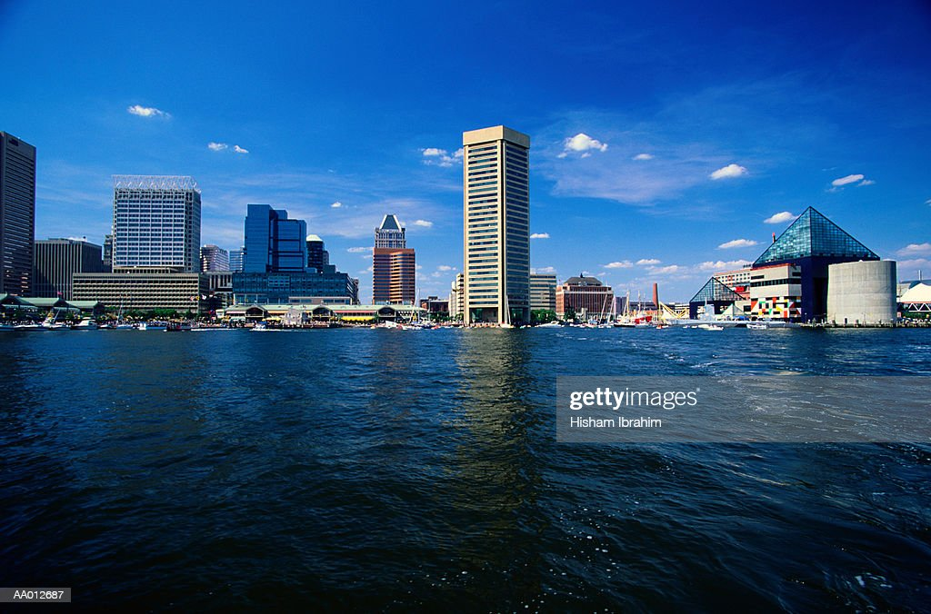 Inner Harbor of Baltimore, Maryland : Stock Photo