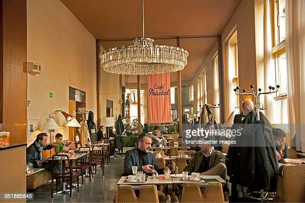 Inner view of the Cafe Prückl Vienna 2013 Photograph by Gerhard Trumler