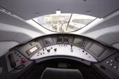 GERMANY BERLIN InnoTrans Control stand of the new Siemens Velaro D