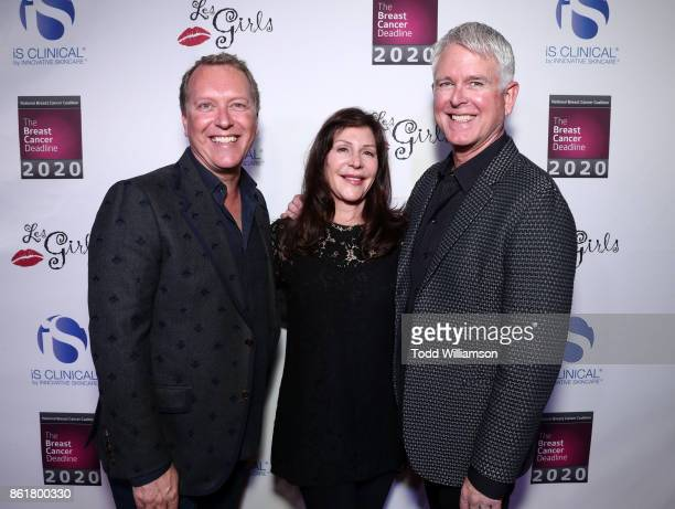 Innovative Skincare COO Alec Call Lauren Shuler Donner and Innovative Skincare President/Ceo Bryan Johns attend National Breast Cancer Coalition...