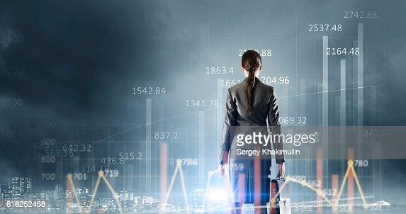 Tecnologias inovadoras para Negócios. Técnica Mista : Foto de stock