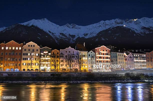 Innsbruck old Houses Riverfront