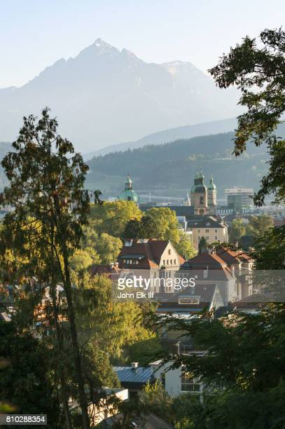 Innsbruck with Dom St Jakob Cathedral