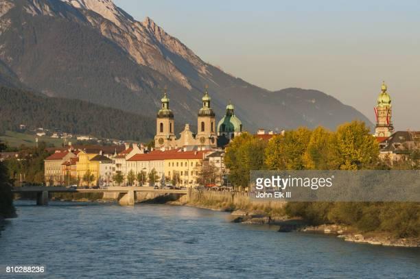 Innsbruck with Inn River