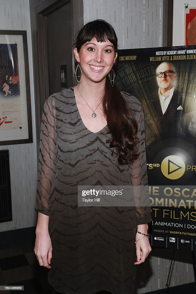 'Inocente' Associate Producer Alexandra Blaney attends the NYC Theatrical Opening of Oscar Nominated Short Films at IFC Center on February 1, 2013 in New York City.