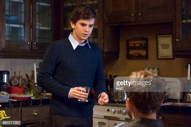 MOTEL 'Inseparable' Episode 507 Pictured Freddie Highmore as Norman Bates