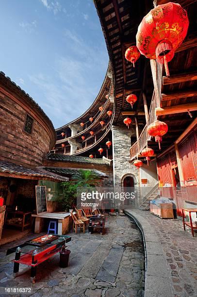 Inside a Hakka Tulou