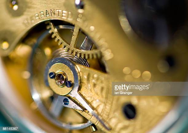 Inside A Pocket Watch