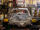 Welding of car body shells on production line