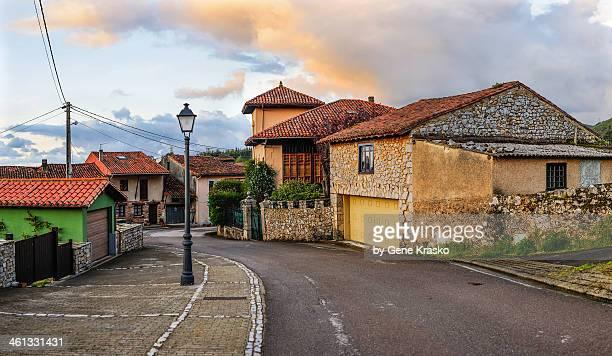 inside a small Asturian village