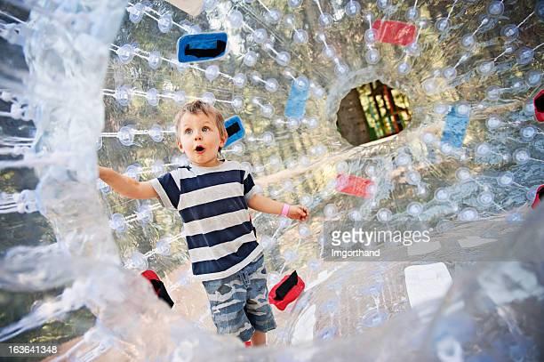 Inside a zorb sphere