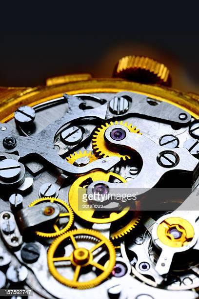 In einem alten Uhr