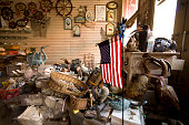 Inside an qntique shop on The Strand that had eight feet of water inside almost wo weeks after Hurricane Ike hit Galveston
