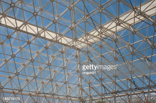 Inside Biosphere 2 : Stock Photo
