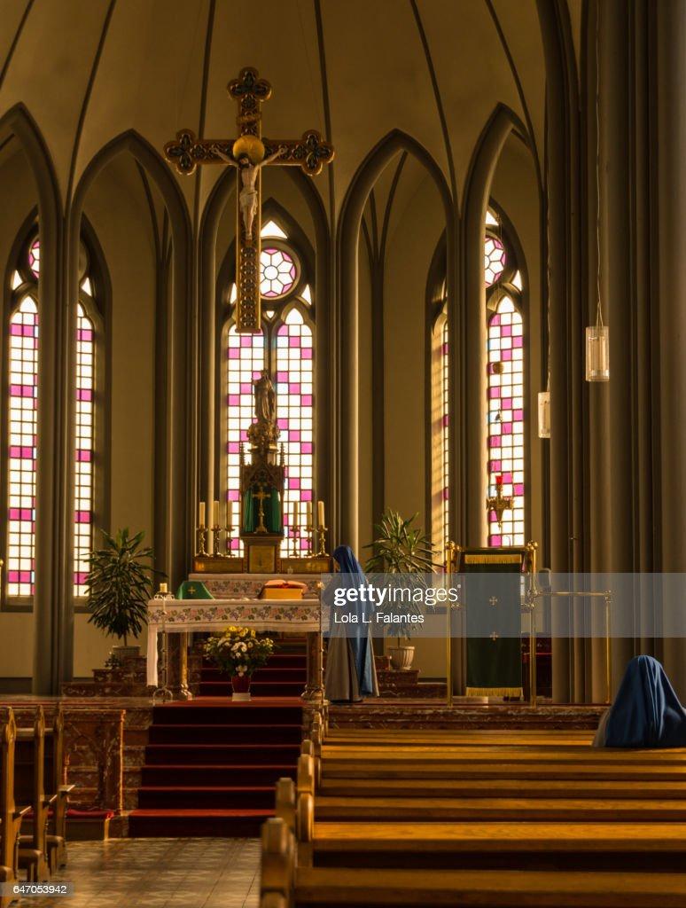 Inside Christ's Church : Foto de stock