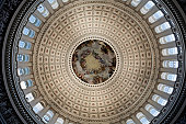 Inside Congress Capitol Building Dome, Washington DC