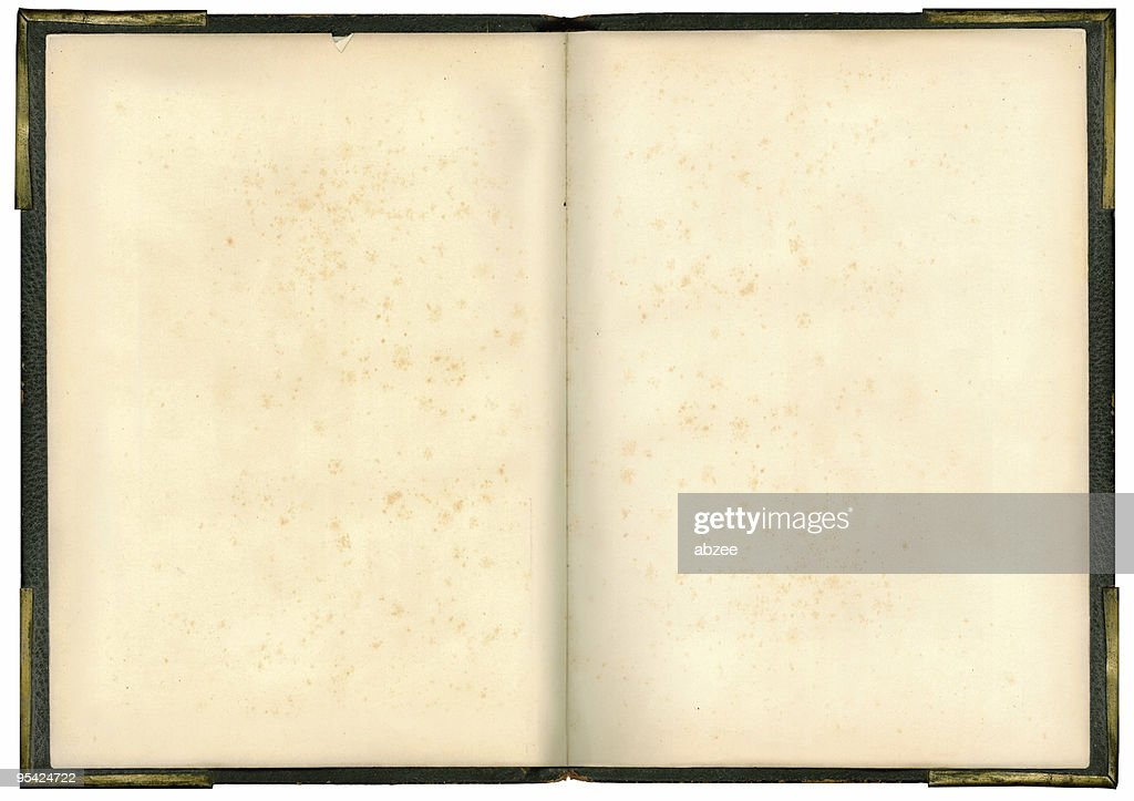 Old Book Inside Cover : Inside cover des alten buch stock foto getty images