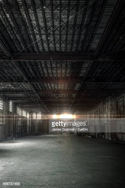 Inside Empty Warehouse