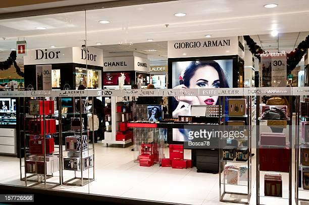Intérieur du magasin de produits de beauté à Bruxelles, Belgique