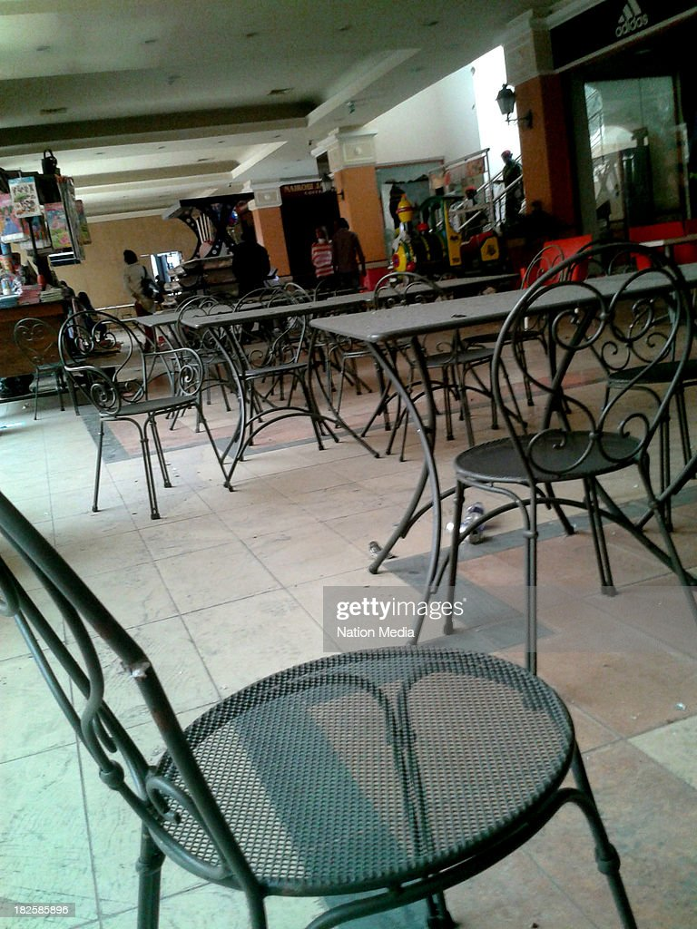 Not for sale to The Star Capital FM The People Citizen TV Kenya Broadcasting Corporation Inside of Galitos at Westgate mall on September 30 2013 in...