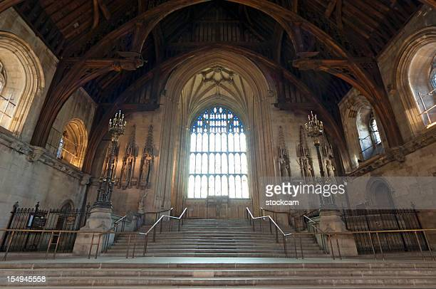 Inside of Westminster Hall London