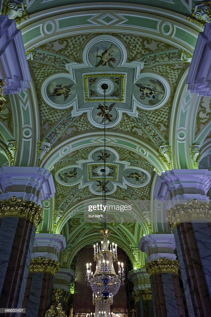 Inside Peter and Paul Cathedral : Stock Photo