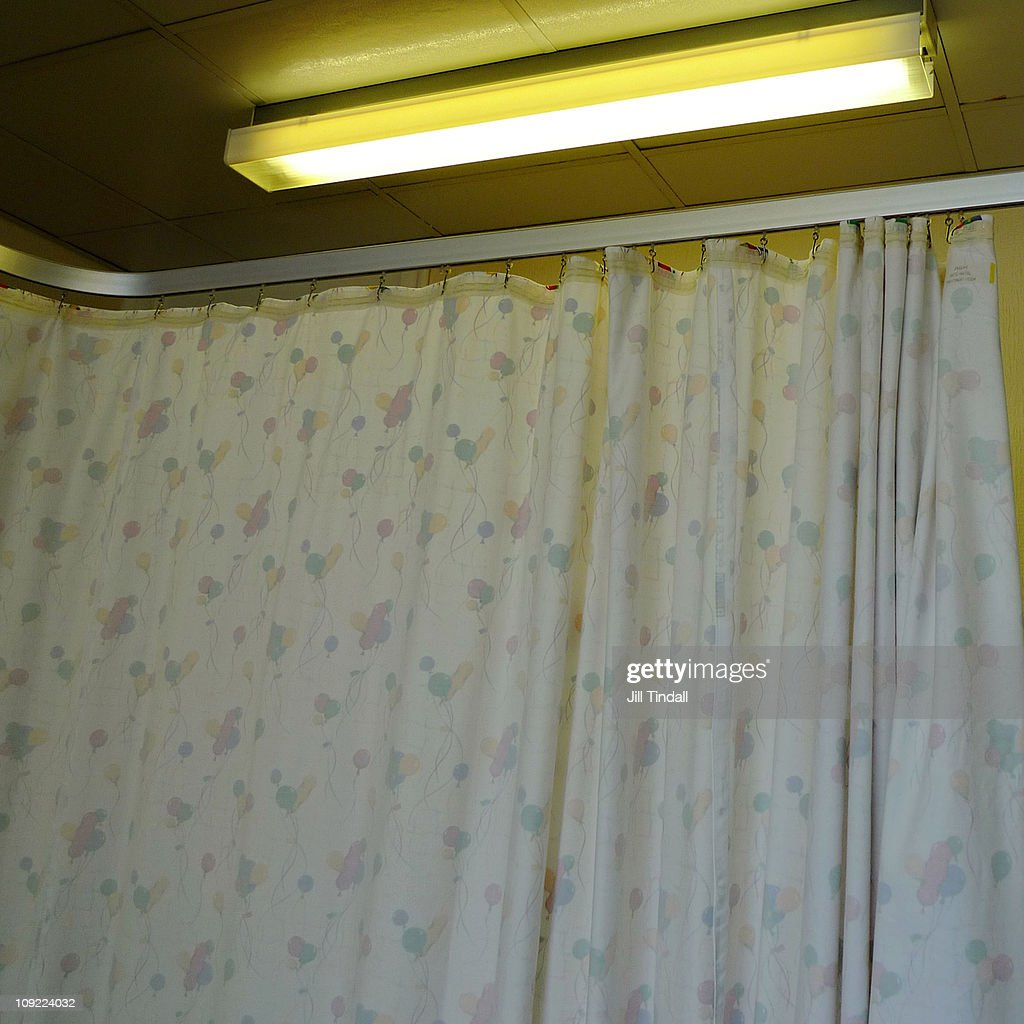 Inside The Antenatal Cubicle : Stock Photo