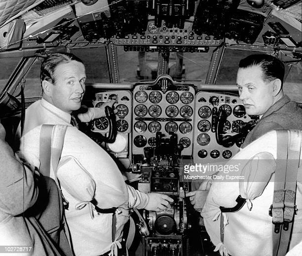 Inside the cockpit of a de Havilland 'Comet Inside the cockpit of a de Havilland 'Comet' 16 May 1962 'This is what it is like at the controls of a...