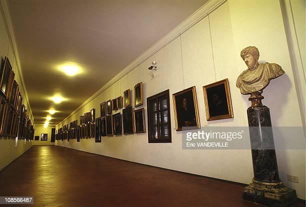 Inside the corridor in Italy in December 1998
