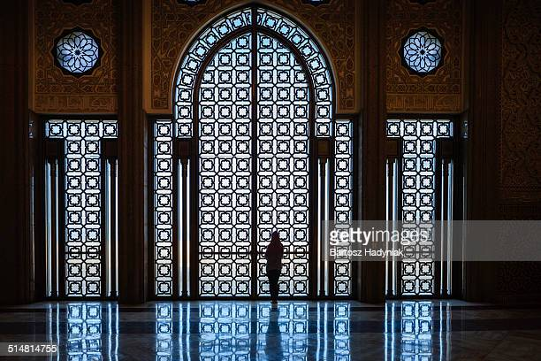 Inside The Hassan II Mosque, Casablanca
