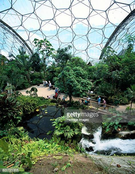 Inside the Humid Tropics Biome Eden Project Cornwall The brainchild of Tim Smit the Eden Project is an environmental and educational complex designed...