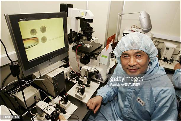 Inside The Laboratory Of Pr WooSuk Hwang A Pioneer In Human Cloning On July 6Th 2005 In Seoul North Korea Here Pr WooSuk Hwang In His Laboratory For...