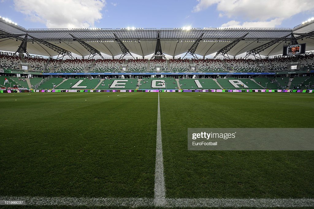 Inside the Polish Army Stadium before the Ekstraklasa match between Legia Warsaw and WKS Slask Wroclawon at the Polish Army Stadium on August 21 2011...