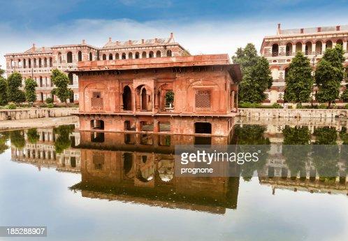 'Inside the Red Fort, Delhi'