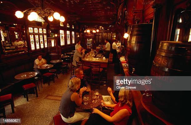 Inside The Stag's Head, a pub in Dublin - County Dublin