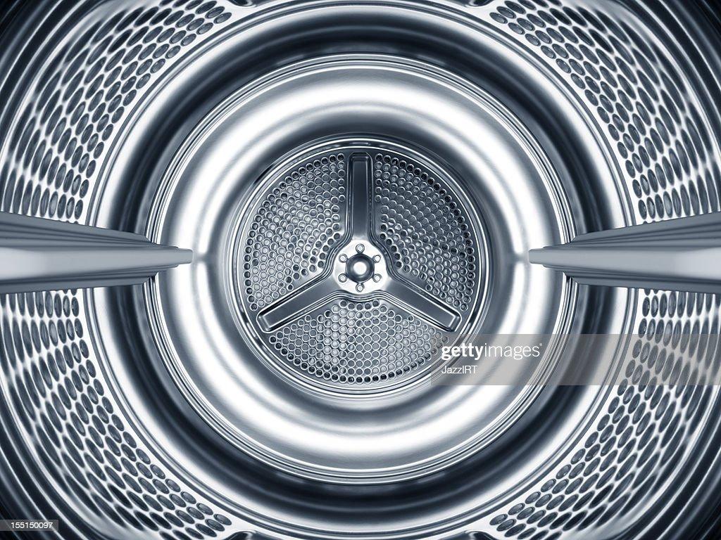 inside of washing machine